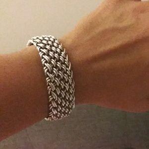 Jewelry - Sterling silver cuff bracelet - womens